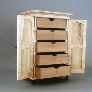 jewelry box open